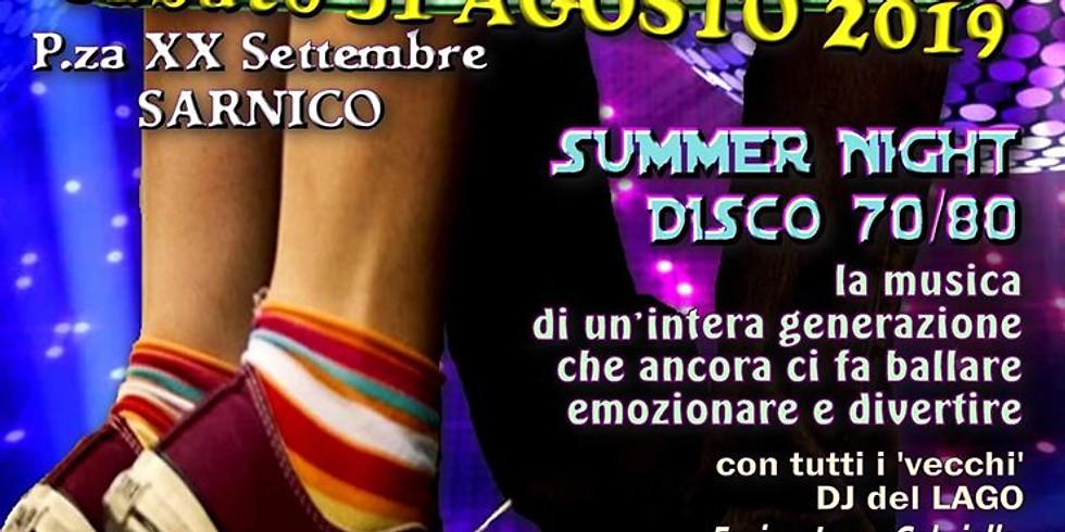 Summer Night Disco Dance