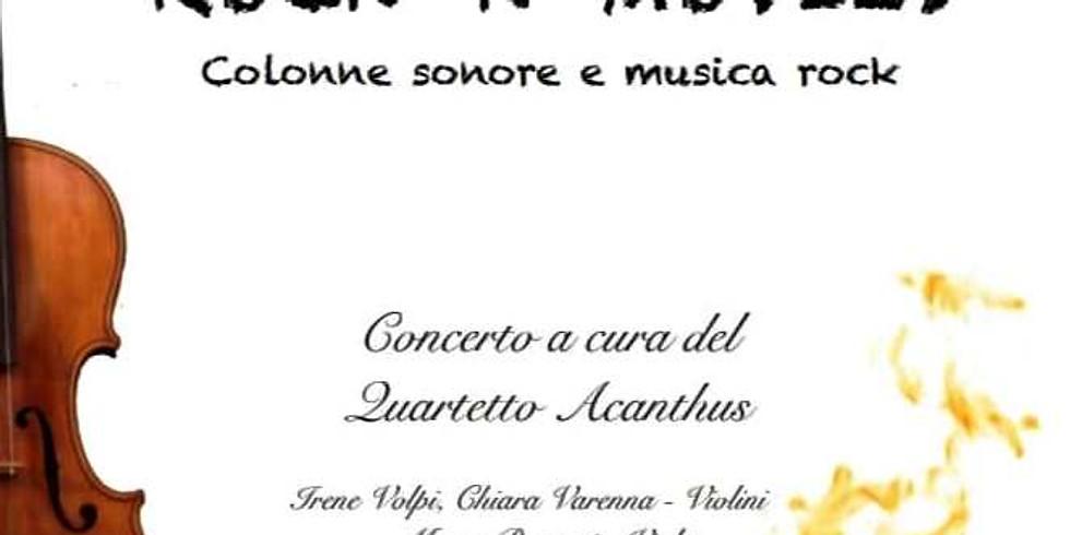 PARATICO ROCK 'N' MOVIES colonne sonore e musica rock