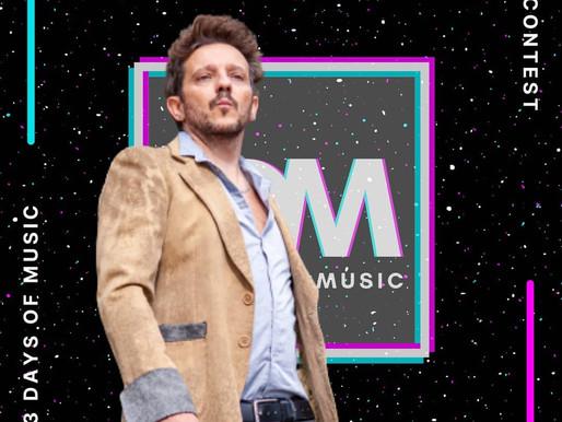 Demis Facchinetti giudice del contest 3DM - 3 Days of Music a Monte Isola 3-4-5 settembre