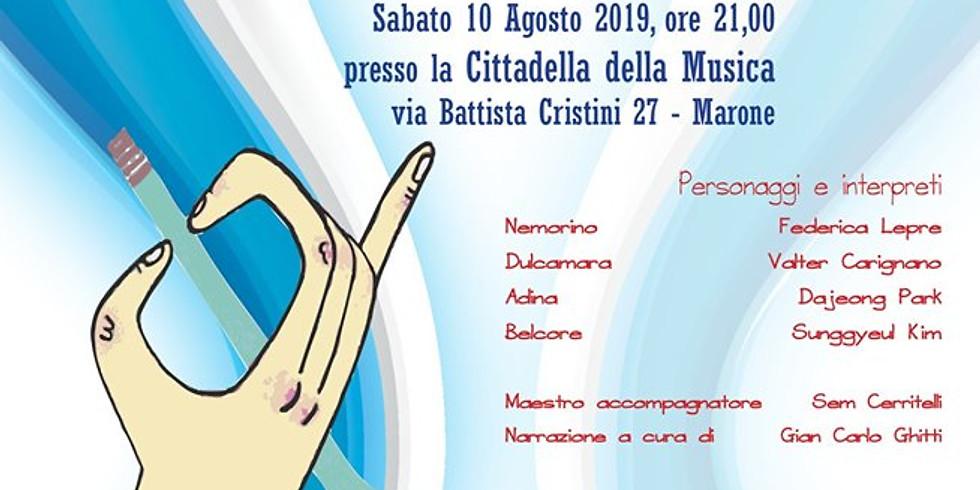 """Marone 10 agosto 2019 """"Elisir d'amore"""""""