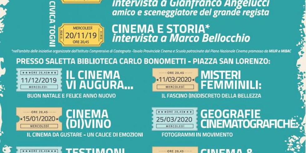 """A Gussago la rassegna """"Dialogare con le immagini"""" incontri cinematografici fino al 6 maggio 2020"""