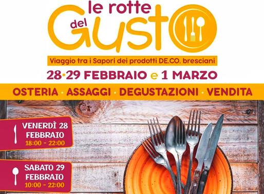 Le rotte del gusto, viaggio tra le De.Co. bresciane dal 28 febbraio al 1 marzo a Passirano