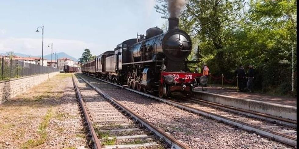 Sebino Express treno storico da Milano Centrale a Paratico-Sarnico sul lago d'Iseo