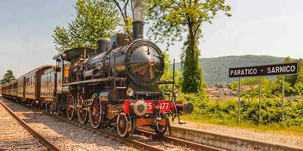 Paratico-Sarnico Sebino Express riparte il treno a vapore 20  giugno