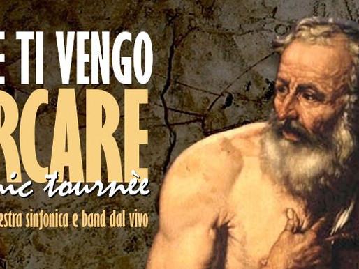 A Erbusco il 3 agosto E TI VENGO A CERCARE - Tributo a Franco Battiato