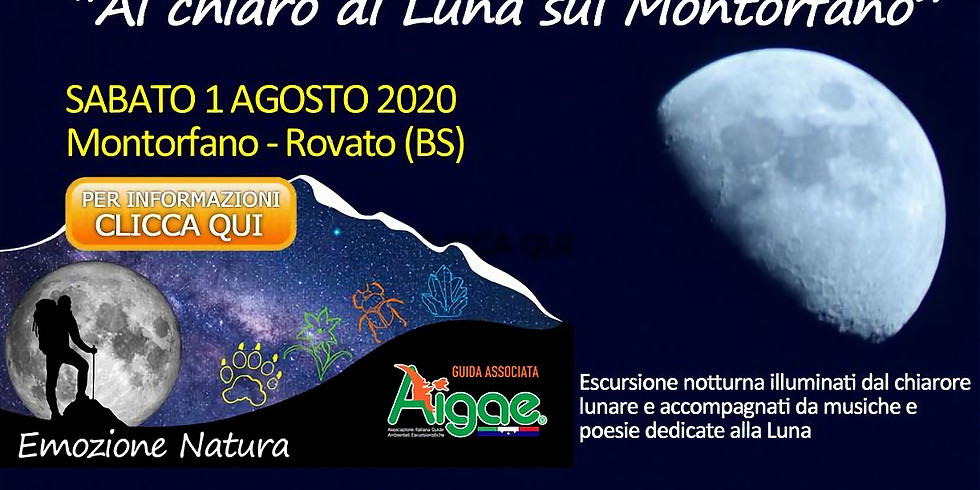 Al chiaro di Luna sul Montorfano