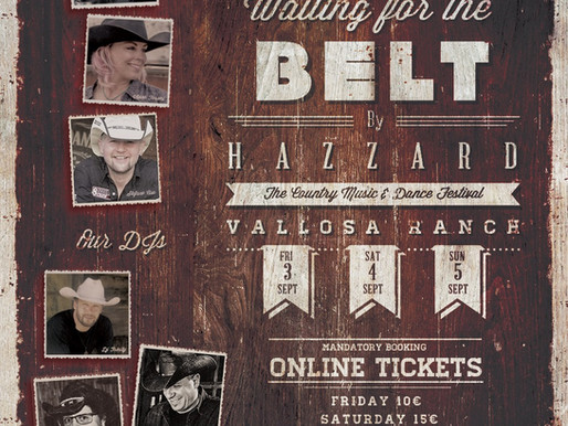 Waiting for The Belt by The Hazzard C.D. 3 agosto 2021