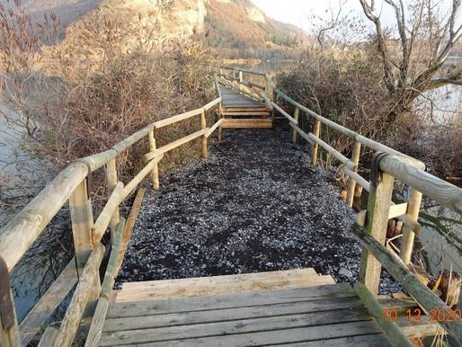 La Riserva Naturale delle Torbiere, manutenzione straordinaria per mettere in sicurezza i percorsi