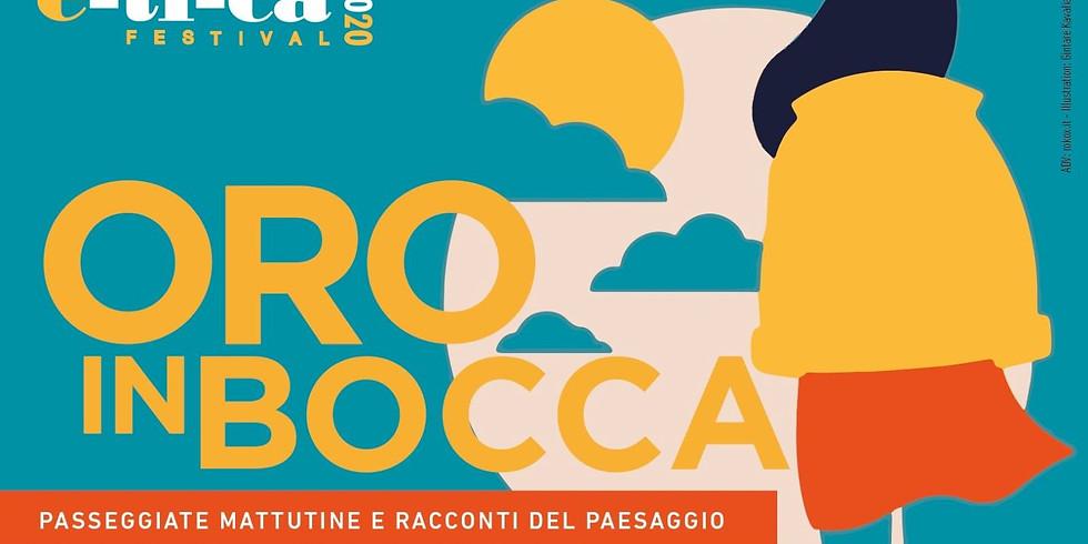 ORO IN BOCCA. Monticelli Brusati. Con Alberto Luca Recchi