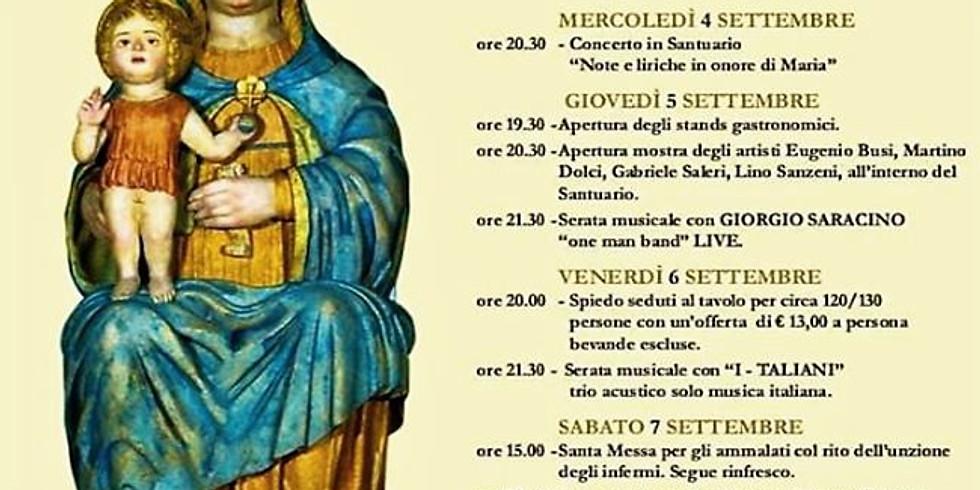 Cerezzata di Ome Settembre Cerezzatese  al Santuario della Madonna dell'Avello 46ma ed.