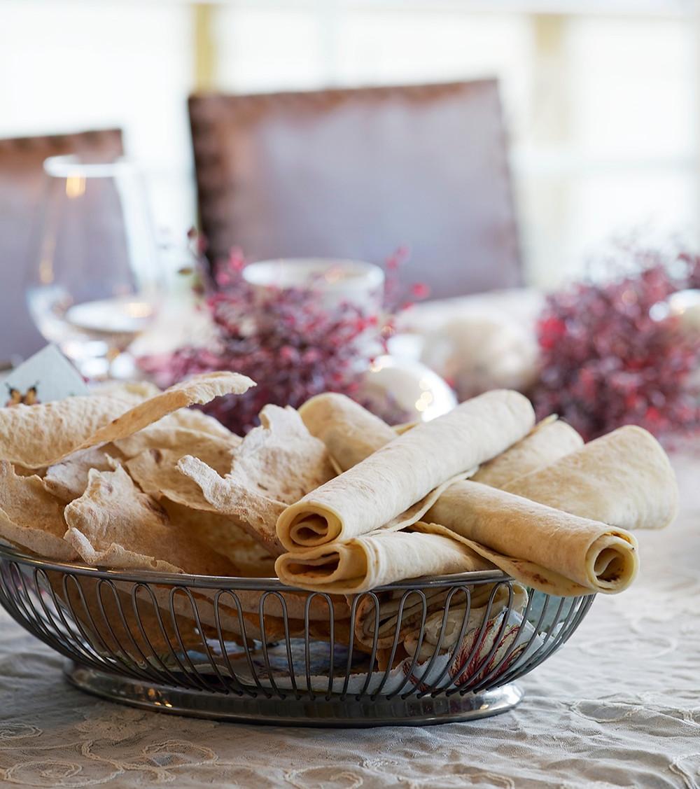 Flatbrød og potetlefser