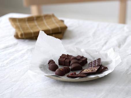Sjokolade med hasselnøtter