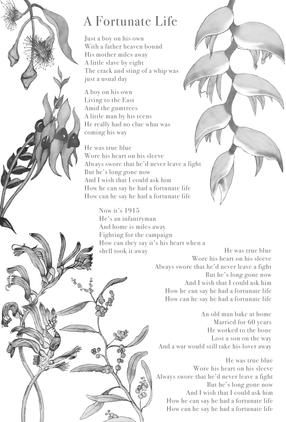 A Fortunate Life Lyric Art