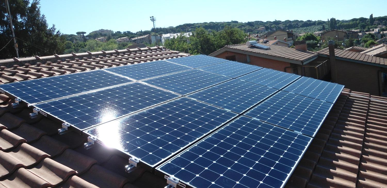 impianto su tetto a falda SunPower