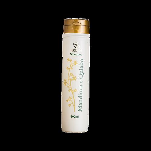 Shampoo sem sal Mandioca e quiabo 300ml