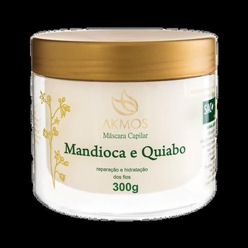 Máscara Capilar Mandioca e Quiabo 300g