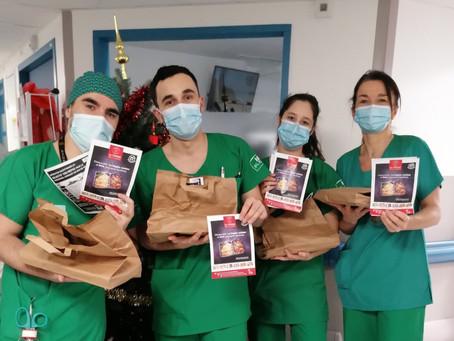 Opération CHU : retour en images sur notre action auprès des soignants