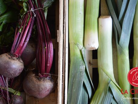 Découvrez les fruits et légumes de janvier, stars des repas de La Cigale !