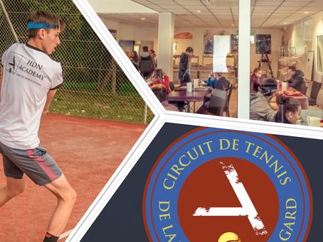 La Cigale, partenaire de la tournée de tennis de Lyon à Nîmes