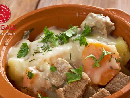 Recette. La blanquette de veau à l'ancienne : un plat régulièrement au menu de La Cigale