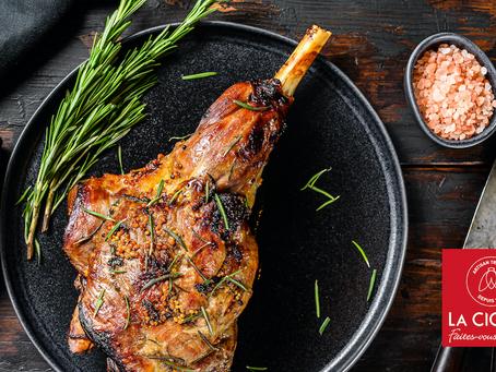 La Cigale : goûtez à notre Agneau Pascal, au menu pour le dimanche de Pâques comme chaque année