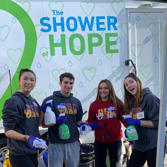 Shower of Hope USC Cheer 2019
