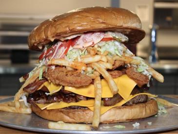Gridiron Burger Challenge Gone Viral!