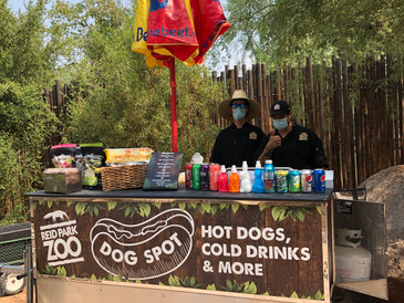 Staff Masked and Ready as Reid Park Zoo Reopens on Wednesday, August 26th
