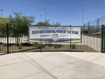 Craft Scores a Home Run with Perfect 10 at Cactus Yards - Outstanding Park of the Year