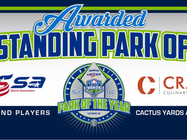 USSSA Names Cactus Yards Outstanding Park of the Year for 2019