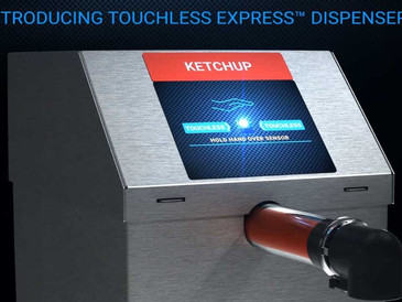 Introducing Touch Free Condiment Dispensers