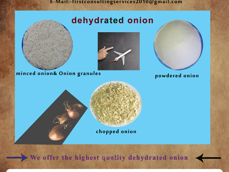 Dehydrated Onion Exporter- First for Import&Export Firm-Dried Onion Exporter