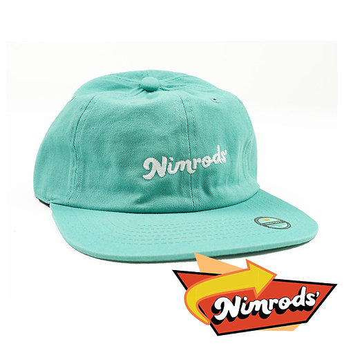 Nimrods' Vintage Washed Ballcap - Blue