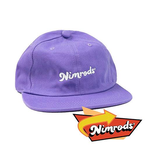 Nimrods' Vintage Washed Ballcap - Purple