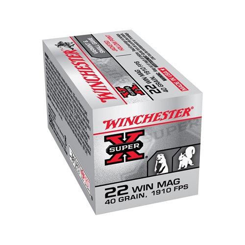 WINCHESTER 22 WIN  MAGNUM JHP 40GR