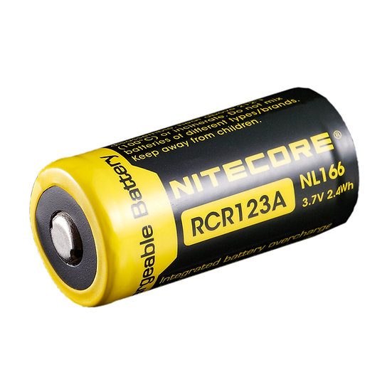 NITECORE- CR123A  LI-ION BATTERY 650MAH