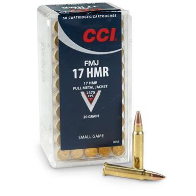 CCI- FMJ 17HMR 20GR