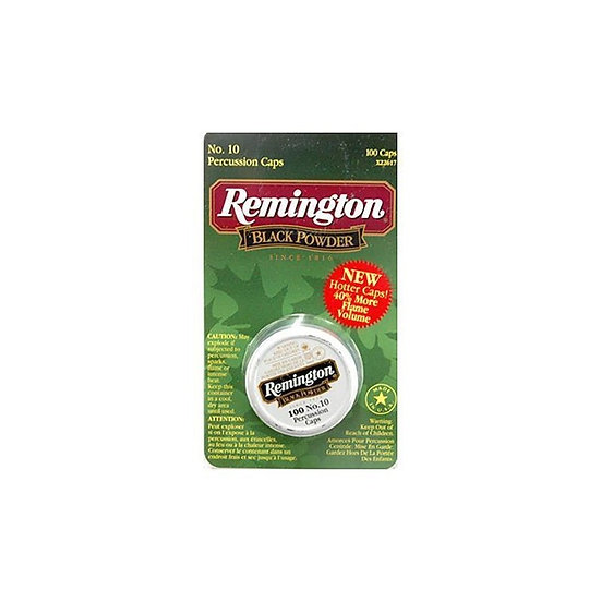REMINGTON-  PERCUSSION CAPS 100 PACK