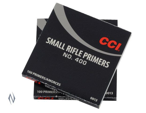 CCI 400 SMALL RIFLE PRIMERS 100PK