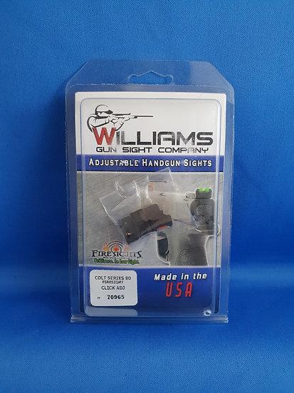 WILLIAMS- COLT SERIES 80 FIRESIGHT ADJ