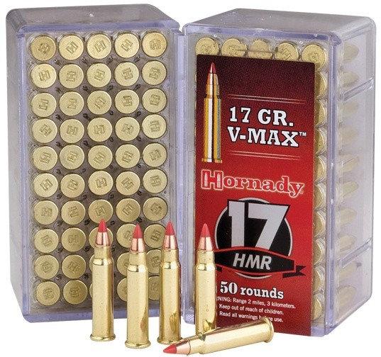 HORNADY- 17HMR 17GR V-MAX