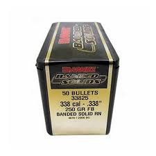 BARNES BANDED SOLID 338 250GR