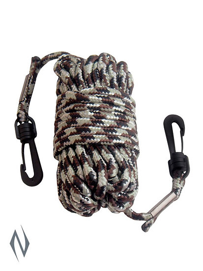 PRIMOS PULL UP ROPE NYLON 30FT CAMO WITH CLASPS
