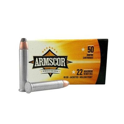 ARMSCOR .22 MAG HOLLOW POINT 40GR