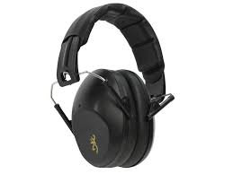 BROWNING BUCKMARK II EAR MUFFS BLACK