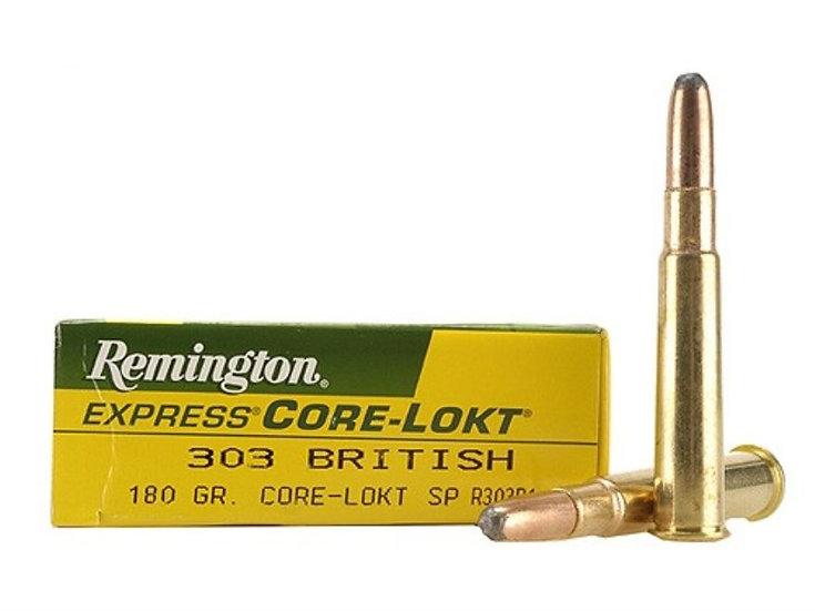 REMINGTON- 303 BRITISH 180GR SP