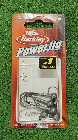 BERKLEY- POWER JIG 1/8OZ SZ 1