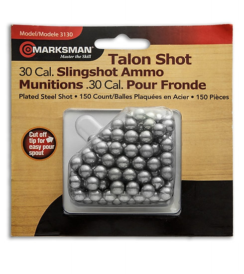 MARKSMAN- 30 CAL PLATED STEEL SHOT AMMO