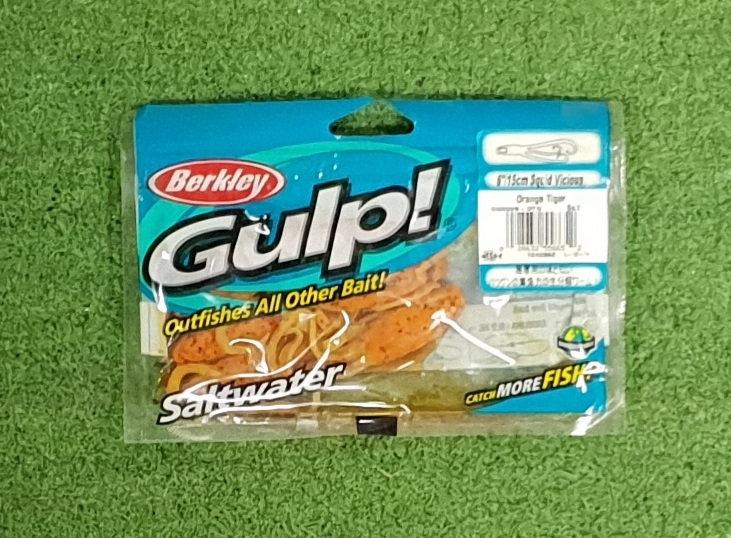 BERKLEY 6INCH SQUID TIGER