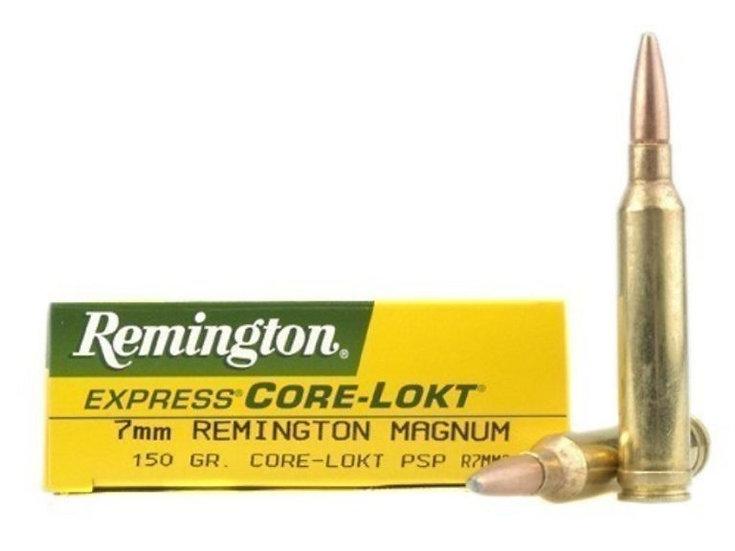 REMINGTON-  7MM REM MAG 150GR PSP CORE LOKT